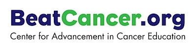 Center for Advancement in Cancer Education logo