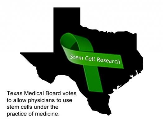 Texas State Medical Board Votes to Allow the Use of Stem Cells